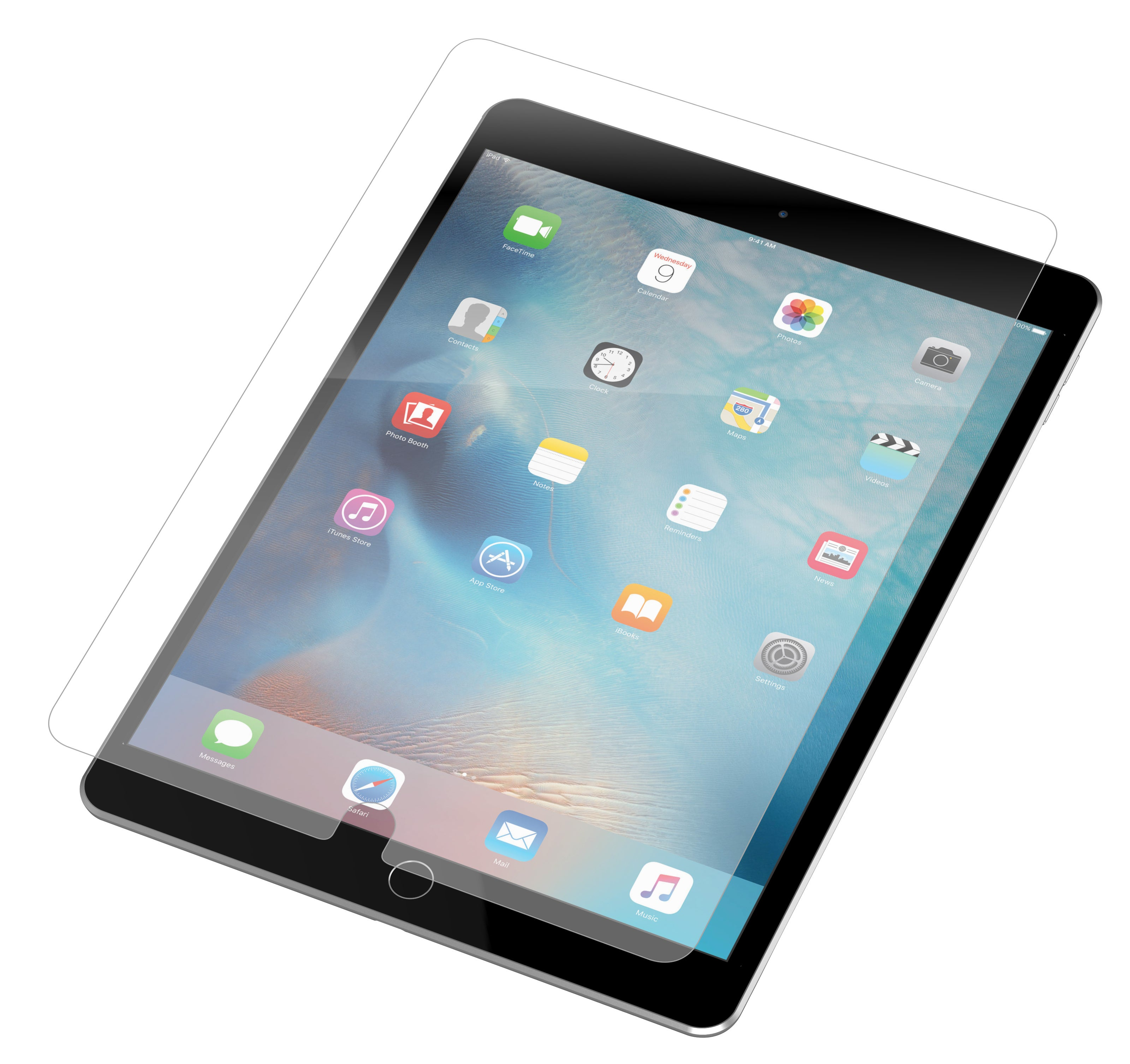 InvisibleShield HDX for the Apple iPad Air/Air 2/9.7-inch Pro (Screen)